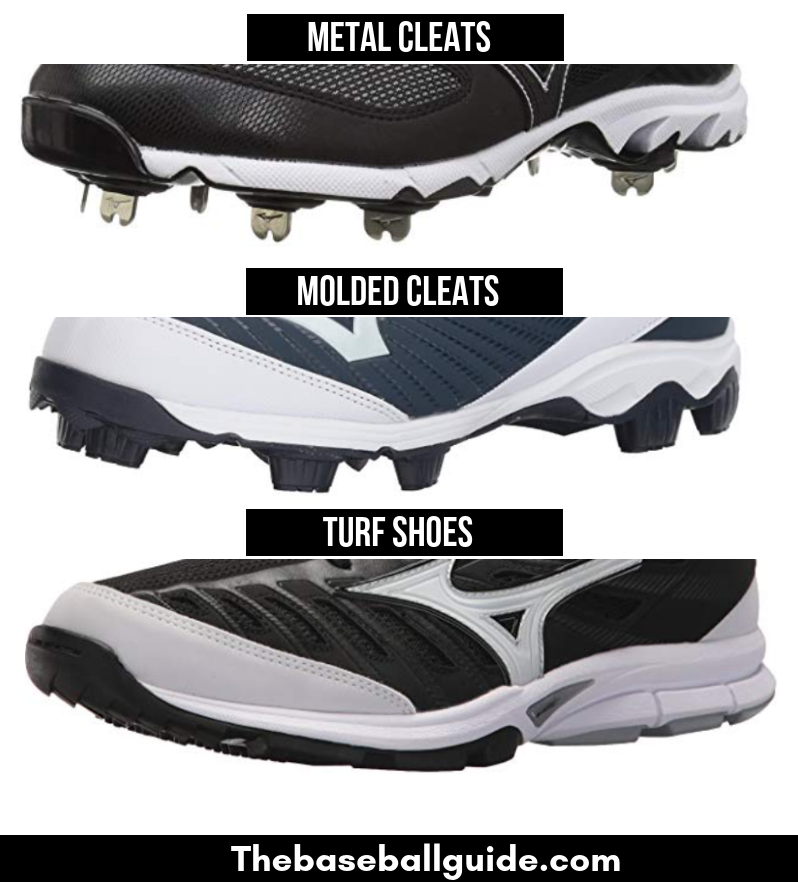 Types of Cleats for Pitchers