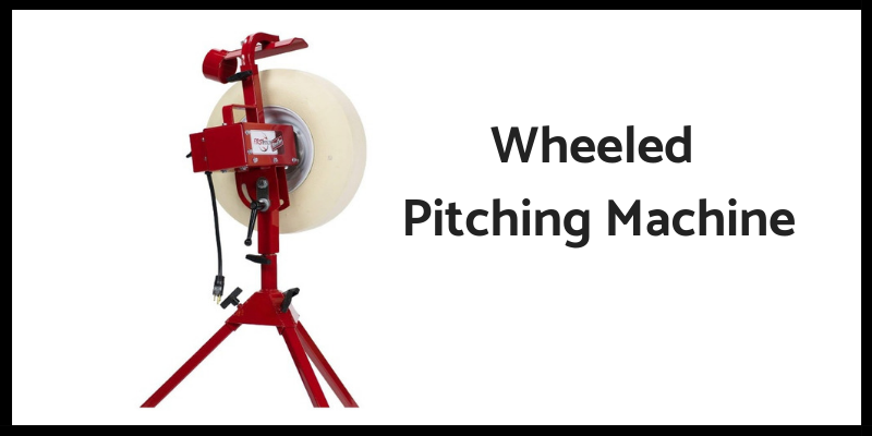 Wheeled Baseball Machine