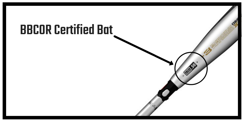 BBCOR Certified Bat with Drop 3