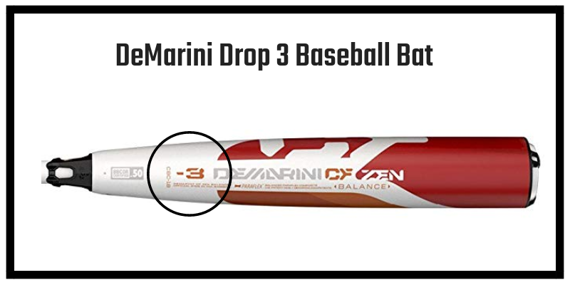 Drop 3 Baseball Bat