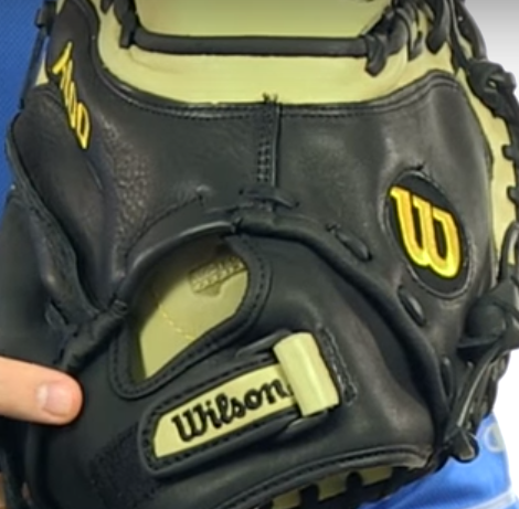 Wilson catchers mitt for high school
