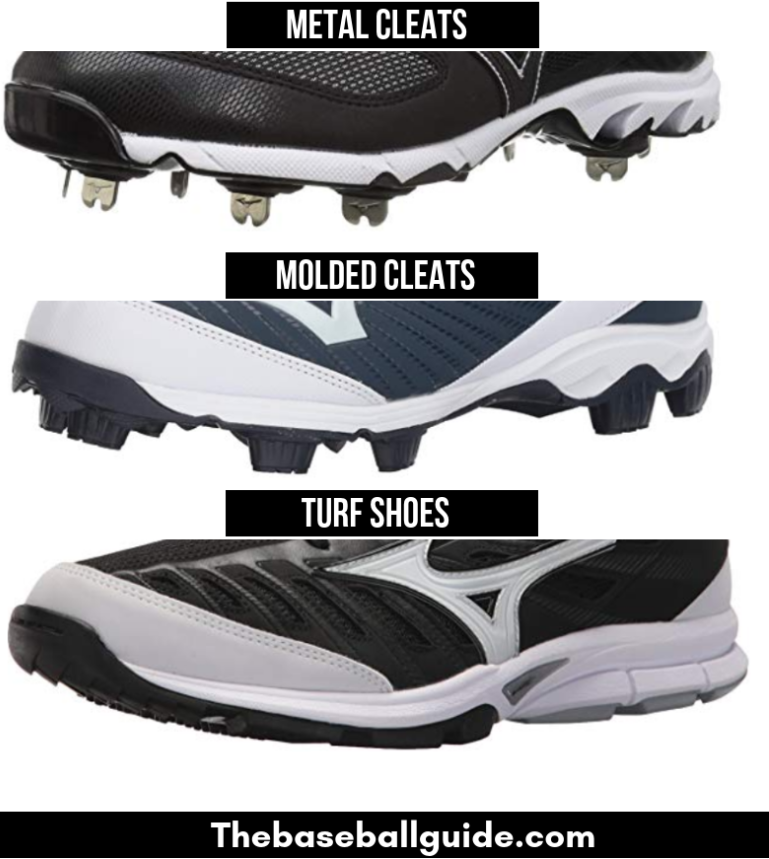 Different types of catchers shoes