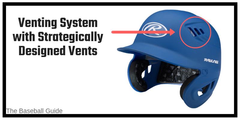 Ventilation in Baseball Helmets