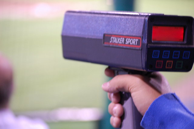 Portable Radar Gun