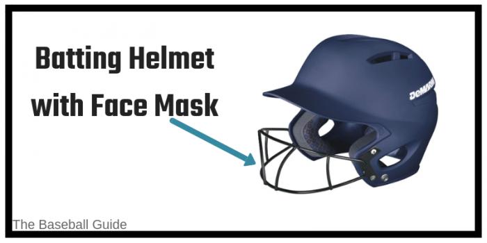 Baseball Helmet with Face Mask