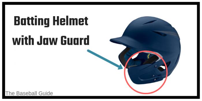 Jaw Guard for Baseball Helmet