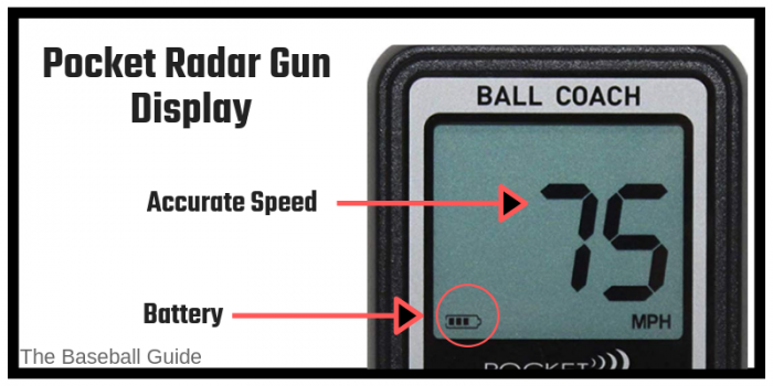 Baseball Speed Gun with Display