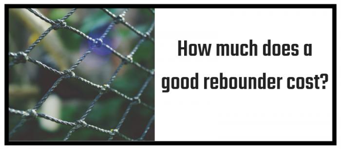 Baseball Rebounder Cost