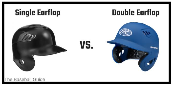 Earflap in Baseball Helmet