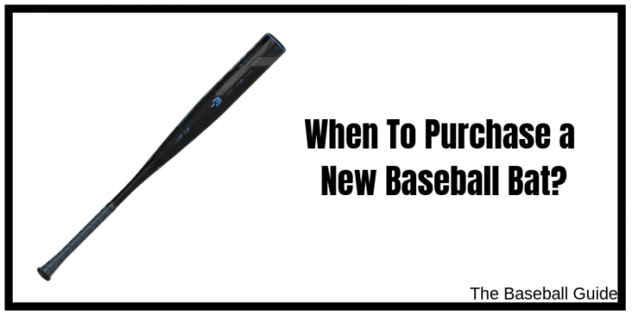 Buying a New Baseball Bat