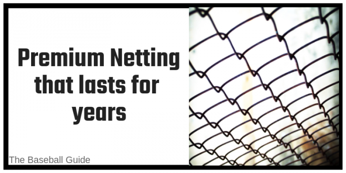 Premium Netting for Baseball Hitting Cage
