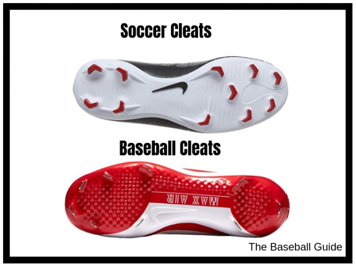 Soccer Cleats vs. Baseball Cleats