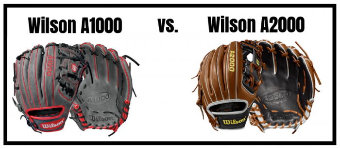 Comparison of Wilson A1000 and A2000 Baseball Glove