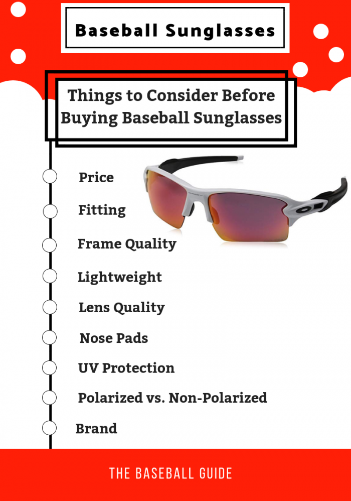 Purchasing Sunglasses for Baseball