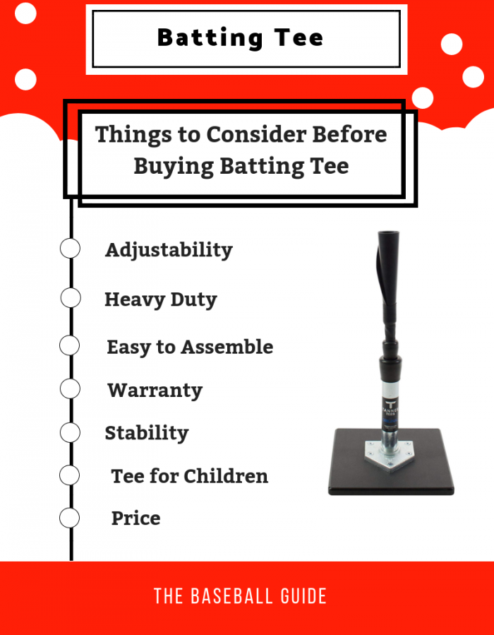 Buying Batting Tee for Baseball