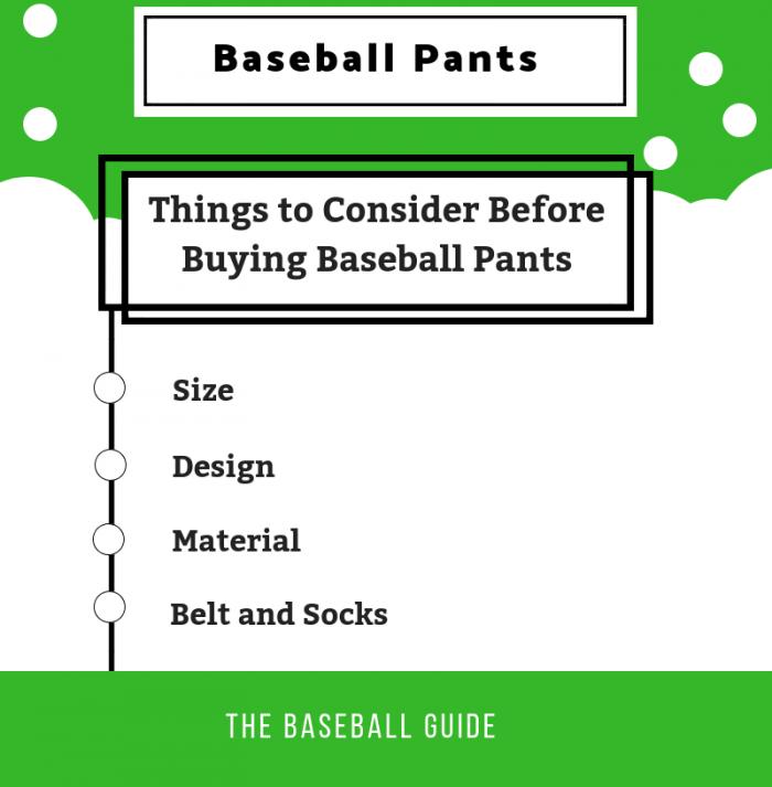 Baseball Pants Guide