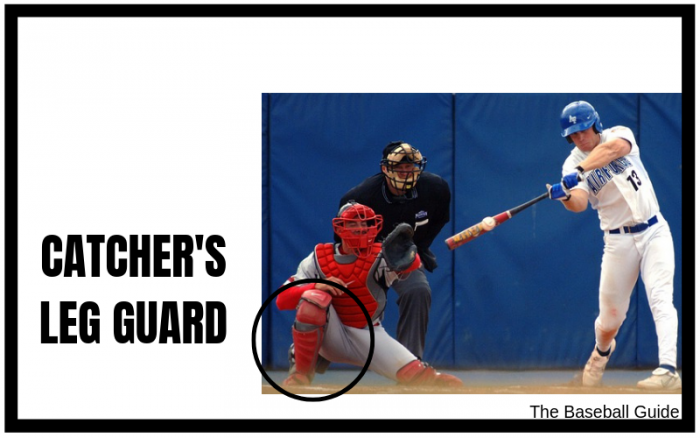 Leg Guard for baseball catchers