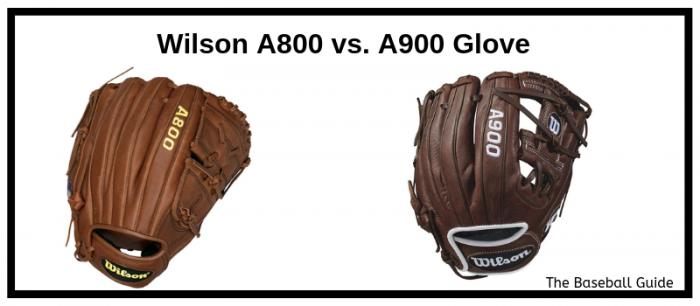 Wilson A800 vs. A900 Baseball Glove