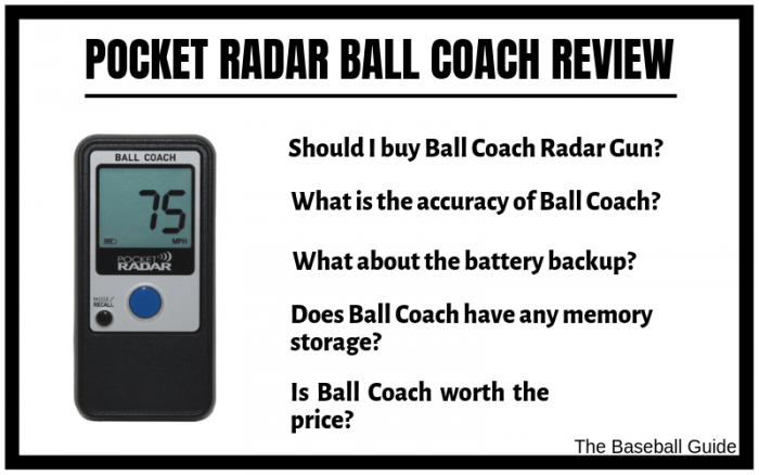 Pocket Radar Ball Coach Review