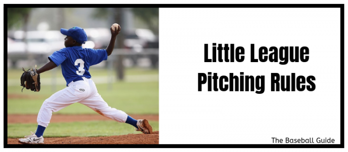 Little League rules for pitching