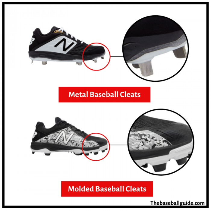 Metal Cleats vs Molded Cleats