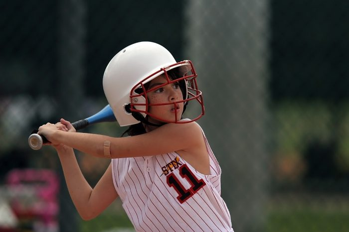 Good grip for hitting slow pitch