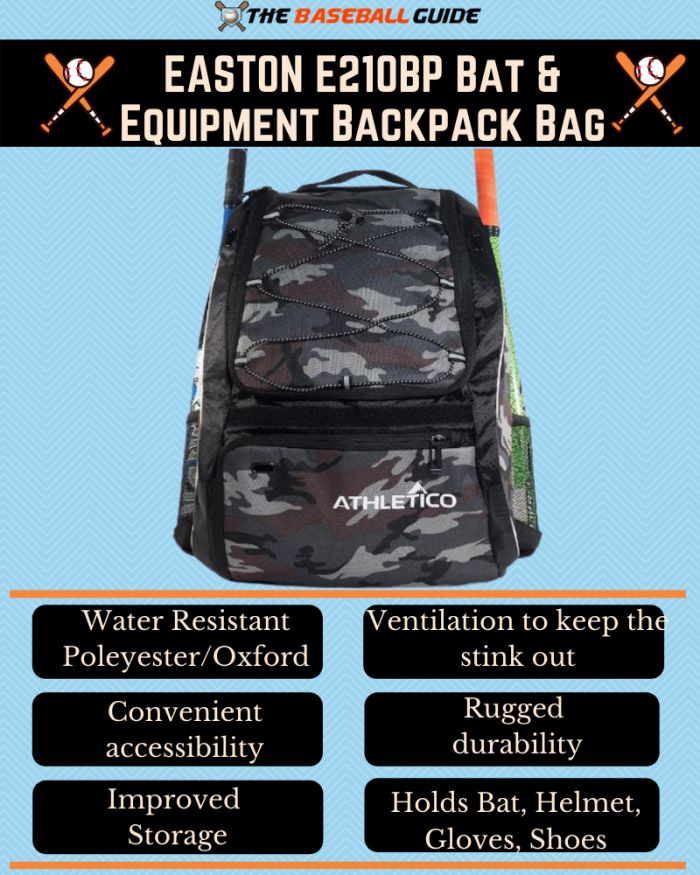 Baseball Equipment Backpack