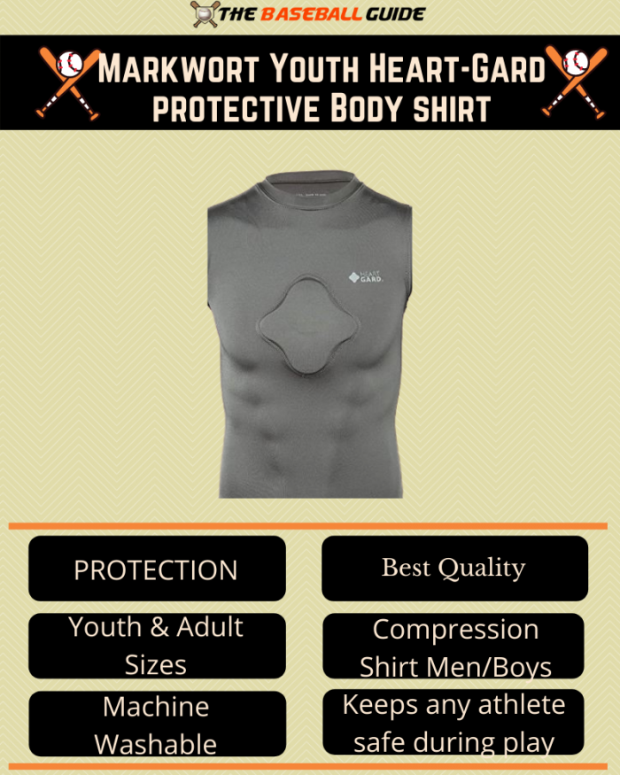 Best Chest Protector Shirt for Baseball Players