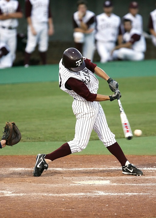 baseball batter using USA Bat